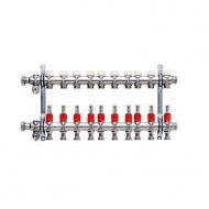 """Kermi Colector-Distribuitor 10 circuite cu debitmetre 3/4"""" Eurocon (SFVT1000000)"""
